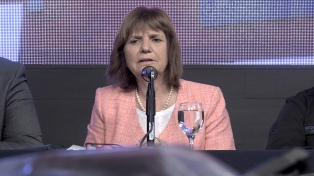 """Patricia Bullrich: """"No vamos a permitir que hagan de la Justicia una unidad básica"""""""