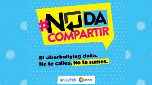 #NoDaCompartir: Unicef e Inadi contra el ciberbullying