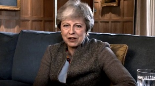 """May prepara una """"nueva oferta"""" al Parlamento para aprobar el Brexit"""