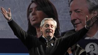 """Alberto Fernández: """"Estoy seguro de que Cristina va a probar su inocencia"""""""