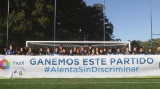 El Inadi exhibirá una bandera en el encuentro de la selección femenina de fútbol