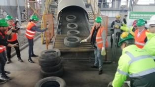 Reutilizarán 6.000 toneladas de neumáticos al año para energía y cemento
