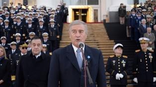 Aguad destacó la vocación de las Fuerzas Armadas