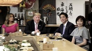 Shinzo Abe corteja a Trump en plena tensión comercial