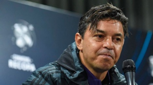 Gallardo mira de reojo el calendario, entre los cruces de la Copa y el Superclásico