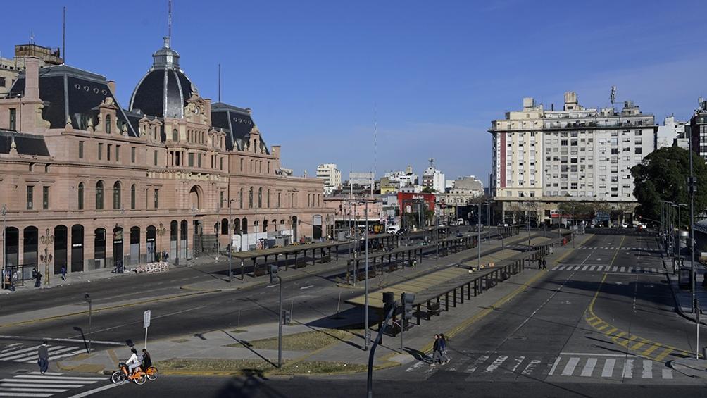 """Trenes Argentinos inaugura el programa """"enTRENtenerte"""" en la estación Constitución."""