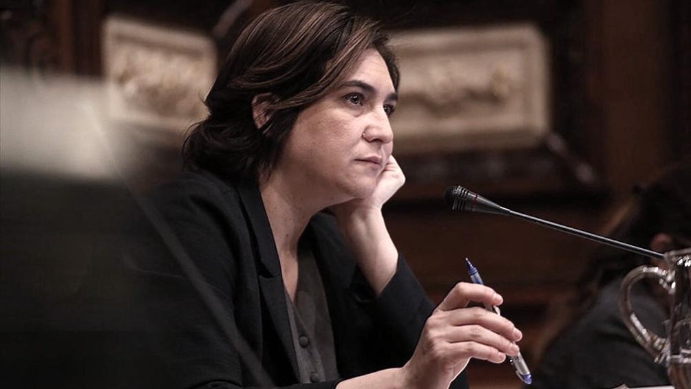 La alcaldesa de Barcelona pidió