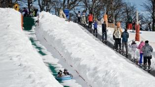 Cerro Bayo propone vivir la nieve con todos los sentidos más allá del esquí