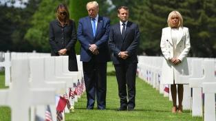 Líderes mundiales honraron en Normandía a los veteranos y los caídos