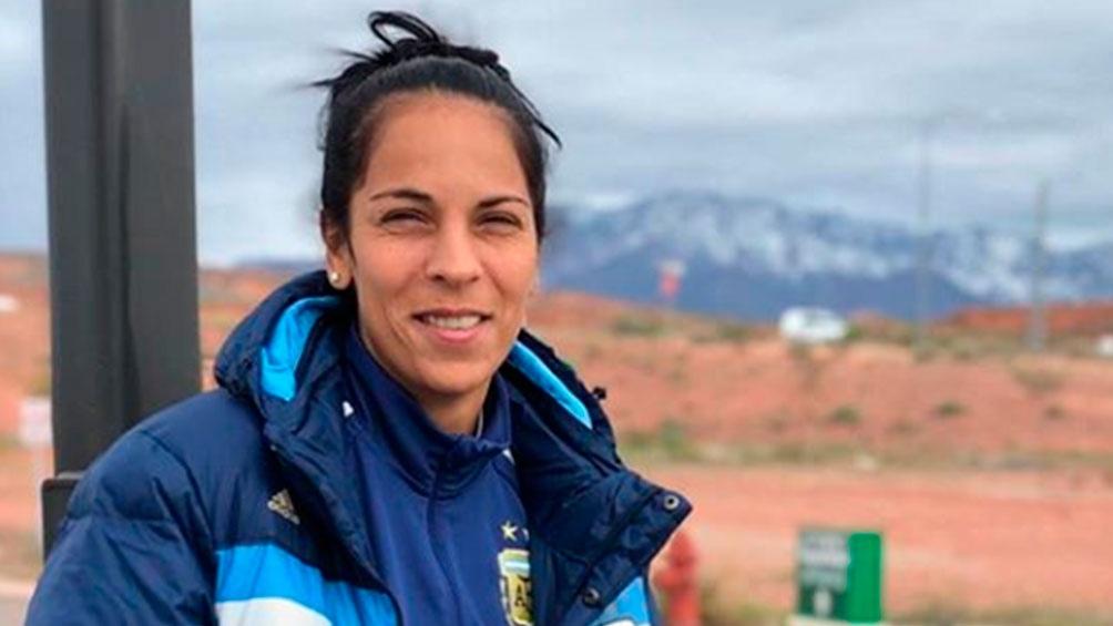 Vanina Correa fue elegida como vicepresidenta de la Confederación de Deportes. Foto: archivo