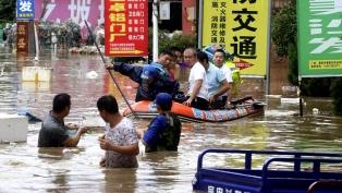 Al menos seis muertos y 88.000 desplazados por las inundaciones