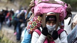 La crisis de Venezuela generó un récord de desplazados forzados en el mundo