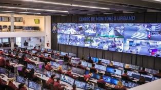Larreta, Bullrich y Santilli inauguraron el nuevo Centro de Monitoreo Urbano