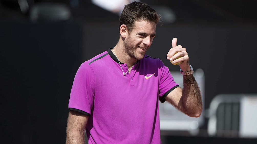 Del Potro es el tercer argentino con más títulos en el circuito con 22 conquistas y está detrás de Guillermo Vilas (62) y José Luis Clerc (25).