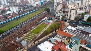 Inauguraron el Parque de la Estación, con una biblioteca y un polideportivo
