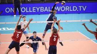 Argentina jugará por la medalla de oro en el vóleibol masculino