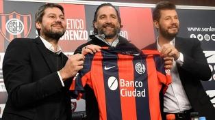 "Pizzi: ""Estoy muy contento de volver a San Lorenzo"""