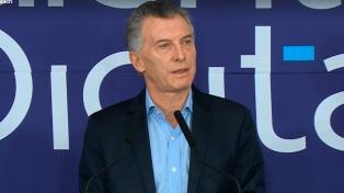 Mauricio Macri y Cristina Kirchner se cruzaron por las segundas marcas