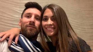 Messi, entre saludos y descanso en el día de su cumpleaños
