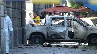 Doble atentado suicida en la capital: un muerto y varios heridos
