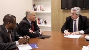 """""""Estamos en un default encubierto"""", dice Alberto Fernández tras reunión con funcionarios del FMI"""