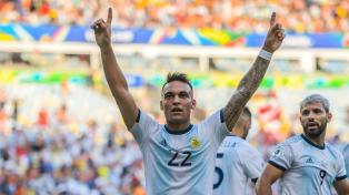 """""""Ojalá pueda lograr algo de lo que hicieron Messi y Agüero"""", dijo Lautaro Martínez"""