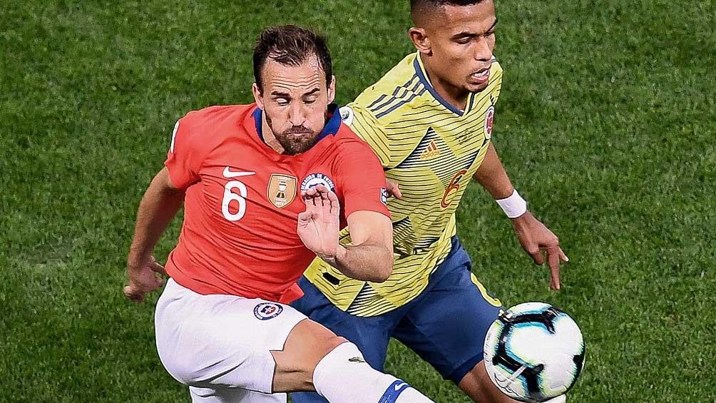 Chile venció a Colombia en suelo trasandino (foto archivo)