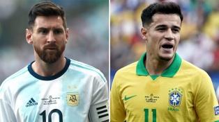 Argentina - Brasil, el duelo en números