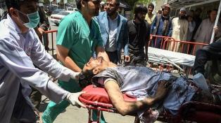 Doce muertos y 50 niños heridos por un ataque talibán en Kabul