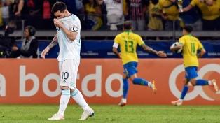 Messi suspendido por tres meses