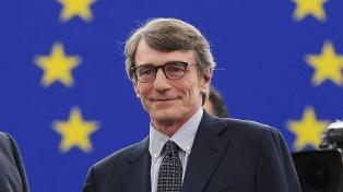 El italiano Sassoli es el nuevo presidente del Parlamento Europeo