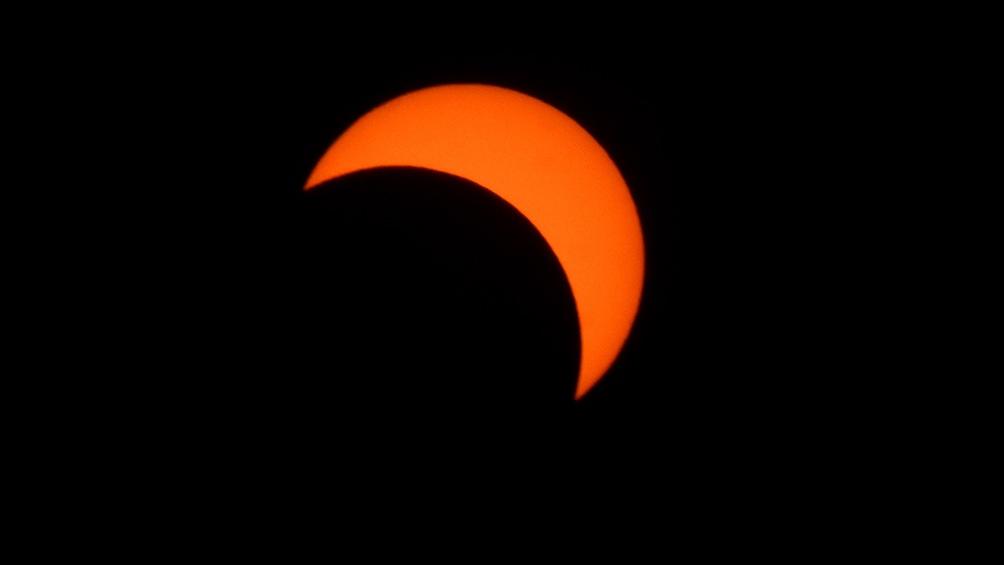 El eclipse comenzará a las 4.30 de la mañana hora argentina y terminará cerca de las 9