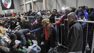 Frente al frío, la solidaridad no se detiene