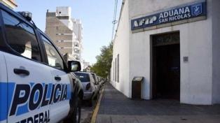 Se negó a declarar el funcionario de Aduana detenido en San Nicolás