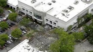 Florida: al menos 21 heridos por una explosión en un centro comercial