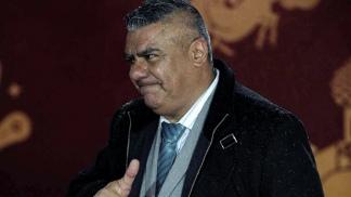 "El presidente de la AFA, Claudio ""Chiqui"" Tapia."