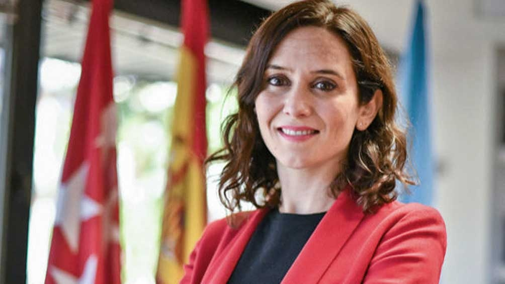 Isabel Díaz Ayuso, presidenta regional de Madrid y candidata a la reelección