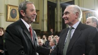 Dirigentes de todo el arco político lamentaron la muerte de De la Rúa