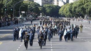 Por el desfile militar del 9 de Julio hay cortes de avenidas y calles