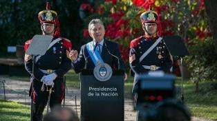 """Macri: """"La Argentina exige el mismo paso de grandeza dado en 1816"""""""