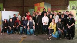 Un mercado de pequeños productores argentinos, la estrella de Masticar