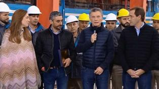 """Macri: """"La revolución de los trenes no puede parar"""""""