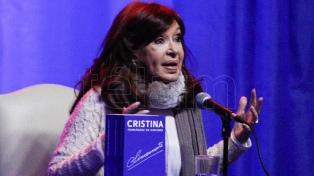 """Cristina Fernández presentará su libro """"Sinceramente"""" en El Calafate"""