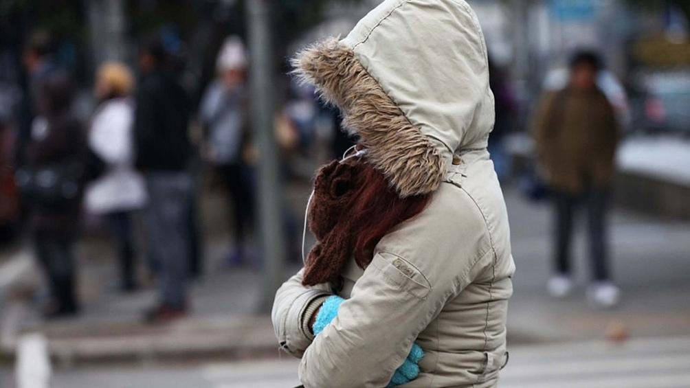 En la Capital Federal se registraron -0.4 de sensación térmica.