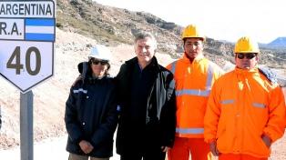 """""""Estamos listos para crecer los próximos 20 años"""", dijo Macri al inaugurar una ruta"""