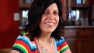 María Pía López, organizadora de la actividad desde la Ungs.