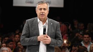 Cornejo despegó a la UCR de lo que no se hizo bien durante la era Macri