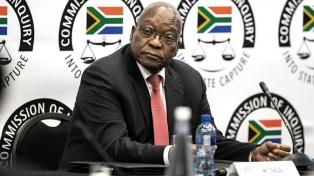 Tras el estallido de violencia, se reanudó el juicio contra Zuma en Sudáfrica