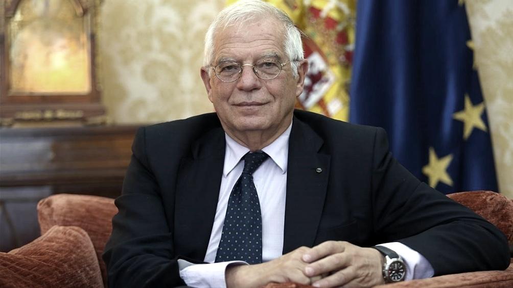 Josep Borrell en cuarentena por positivo de coronavirus de un miembro de la UE