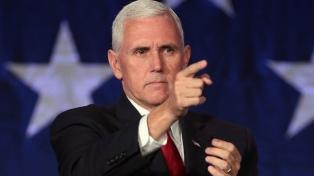 """El vicepresidente Pence afirmó que """"el ataque al Congreso no será tolerado"""""""